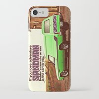 sandman iPhone & iPod Cases featuring Holden Sandman Adventure by Blulime