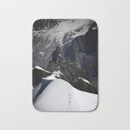 Mont Blanc Massif Bath Mat
