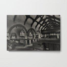 St Grwsts Church Metal Print