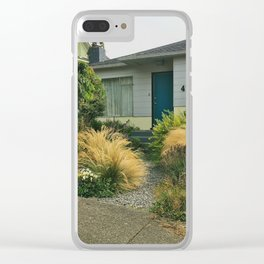 California Small Town Summer Clear iPhone Case