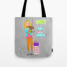 Dogs are travel companions ❤️ Tote Bag