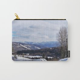 Mountain Winter Road Carry-All Pouch