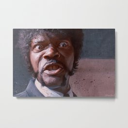 Pulp Fiction Jules Winnfield - Furious Anger Metal Print