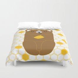 The Honey Bear Duvet Cover