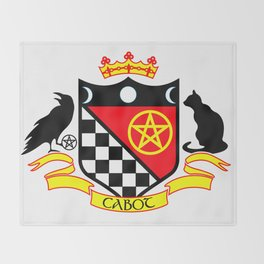 Cabot Crest Color Throw Blanket
