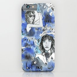Don't give it to any girl but me iPhone Case