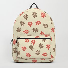 Maple Ash Leaves Backpack
