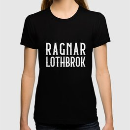Vikings Ragnar Lothbrok product Nordic Viking Valhalla Tee T-shirt