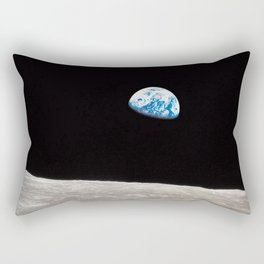 Earthrise William Anders Rectangular Pillow