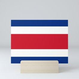 Flag of Costa rica -Costa rican, tico,San José ,Puerto Limón ,Alajuela, heredia. Mini Art Print