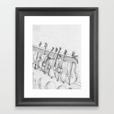 Cellos Framed Art Print