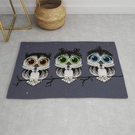 Three Little Owls Rug