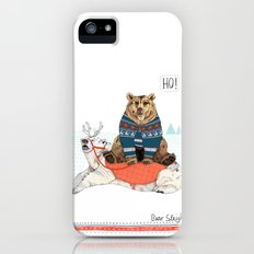 Bear Sleigh Slim Case iPhone (5, 5s)