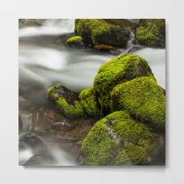 Slow Creek Metal Print