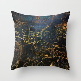 KINTSUGI  ::  Embrace Damage Throw Pillow