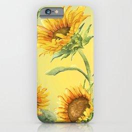 Sunflowers 2 iPhone Case