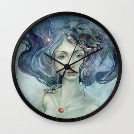 Zodiac Cancer Wall Clock