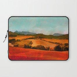 Landscape with hills Laptop Sleeve