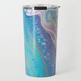 Acrylic pour Travel Mug