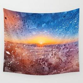 Acrylic San Francisco Sunrise Wall Tapestry
