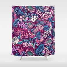 Stand Out! (ultraviolet) Shower Curtain