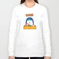 polar bear Long Sleeve T-shirts featuring Polar Bear by Claire Lordon