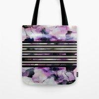 blossom Tote Bags featuring Blossom // by Georgiana Paraschiv