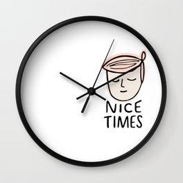 Nice Times Taylor Wall Clock