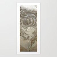 T S U N A M I Art Print