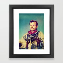 Space Murray Framed Art Print