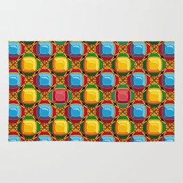 Pattern with diamonds Rug