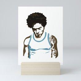 Lenny Kravitz - Portrait Mini Art Print