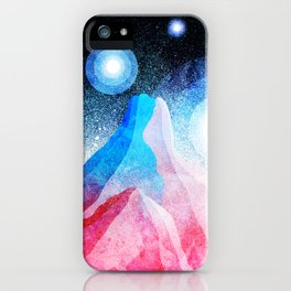 The great moons of another world iPhone Case