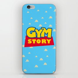 Gym Story iPhone Skin