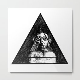 MODERN MONKEY Metal Print