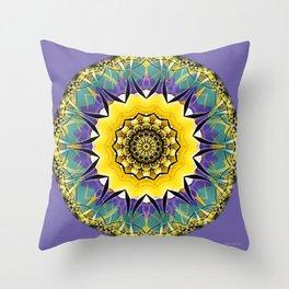 Mandalas of Healing and Awakening 5 Throw Pillow