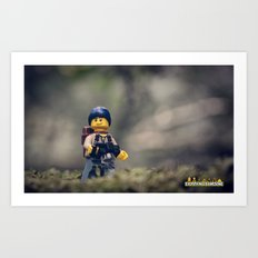 Everything Is Awesome Ramble Art Print