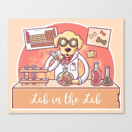 Lab in the Lab Canvas Print
