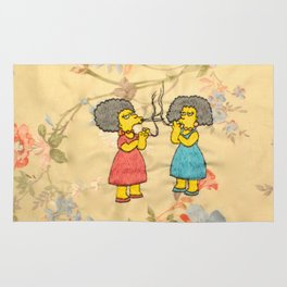 Patty and Selma - The Simpsons  Rug