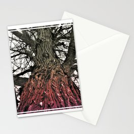 Gradient Spider Tree Stationery Cards
