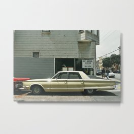 chrysler in SF Metal Print