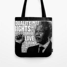 Mandela tribute Tote Bag