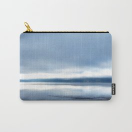 Soft winter sky Carry-All Pouch