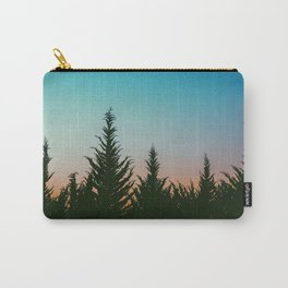 TREES - SUNSET - SUNRISE - SKY - COLOR - FOREST - PHOTOGRAPHY Carry-All Pouch