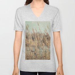 Marsh Grasses Unisex V-Neck