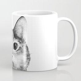 silly cat Coffee Mug