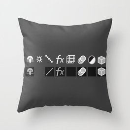 Toggle My Motion Throw Pillow