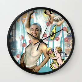 COLLAGE: Refresh Wall Clock