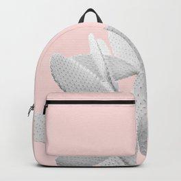 White Blush Cacti Vibes #1 #plant #decor #art #society6 Backpack