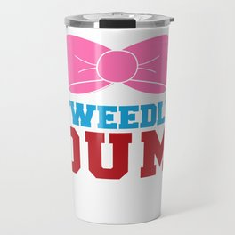 Tweedle Dee Matching Funny Graphic T-shirt Travel Mug